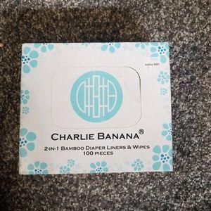 Charlie Banana Diaper liners/wipes